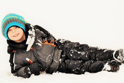 Lek i snö