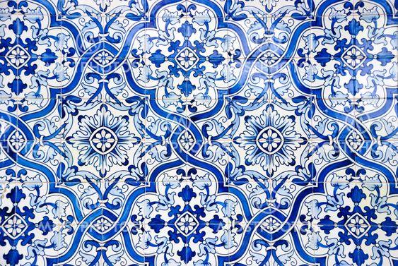 Portugisiske fliser, Azulejos