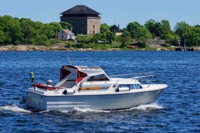 Summer boat cruise, Karlskrona Sweden