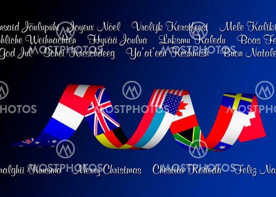 International Christmas Greetings -Multilingual