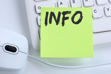 Info information message news announcement announce...