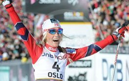 Therese Johaug World Champion