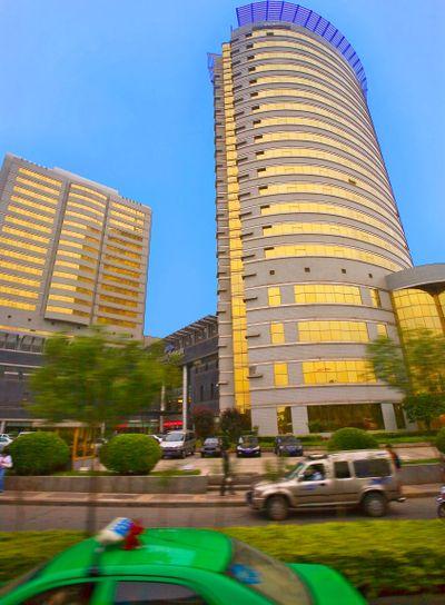 chine,xi'an : centre-ville