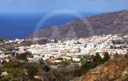 Los Llanos de Aridane on Canary island La Palma