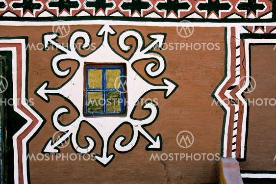 Decorated Basuthu hut