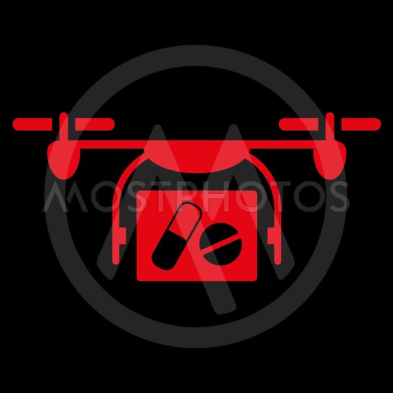 Medical Quadcopter Icon