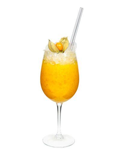 Yellow mango drink