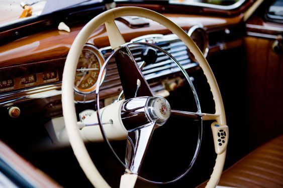 Ratt i gammal bil