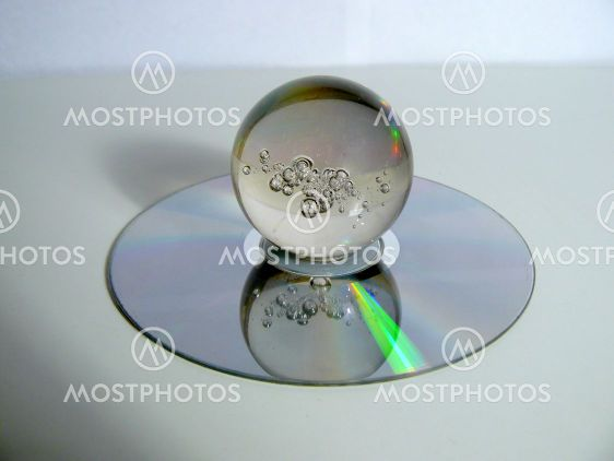 Sphere on a disk