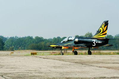 L-39 jet aerobatic team -Rus- board number - 3.