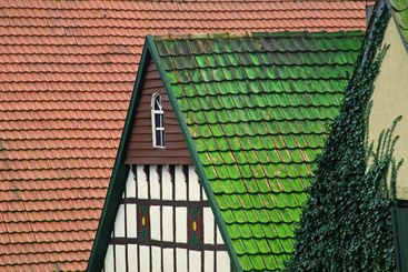 Timbered house-detail