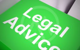 Legal advice concept means getting defence from a lawyer...