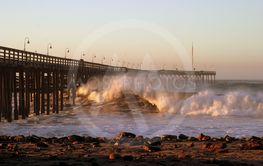Ocean Wave Ventura Pier