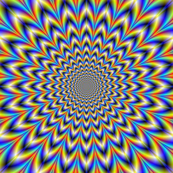 24 point Pulse Psychedelic