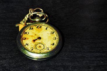 pocket old clock