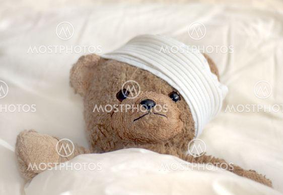 Teddy sairaalassa
