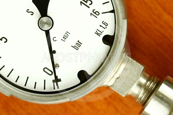Air pressure bar gauge