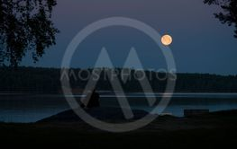 Fullmåne över Yngern #4-26