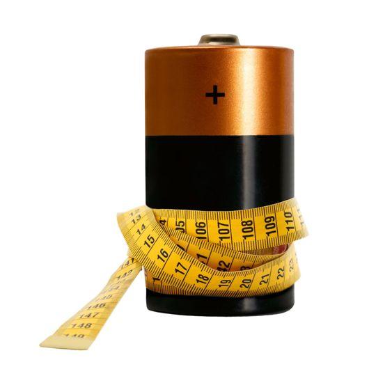 ackumulator för att mäta band