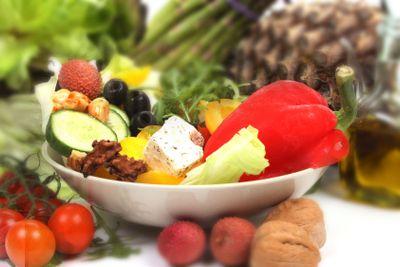 Salad ingredients