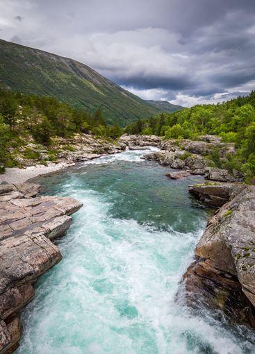 Oppdal, Trondelag in Norway