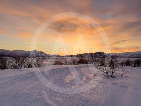 Solnedgång i Torneträsk_5