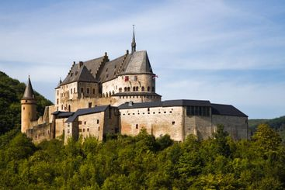 Medieval Castle of Vianden, Luxembourg