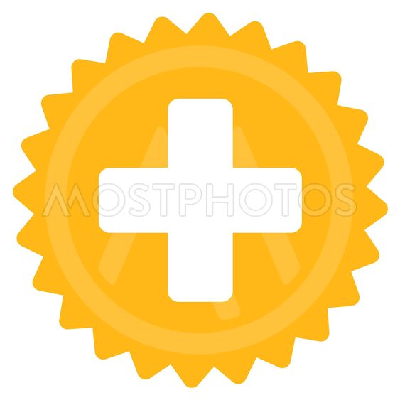 Health Care Stamp Icon