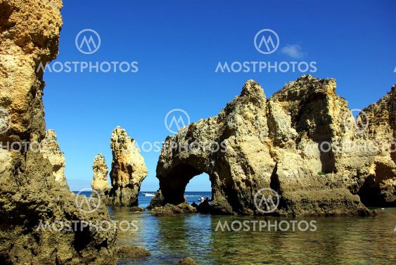 Grottos and rocks