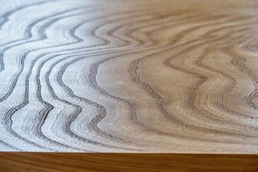 Elm slab countertop with stylish texture as background