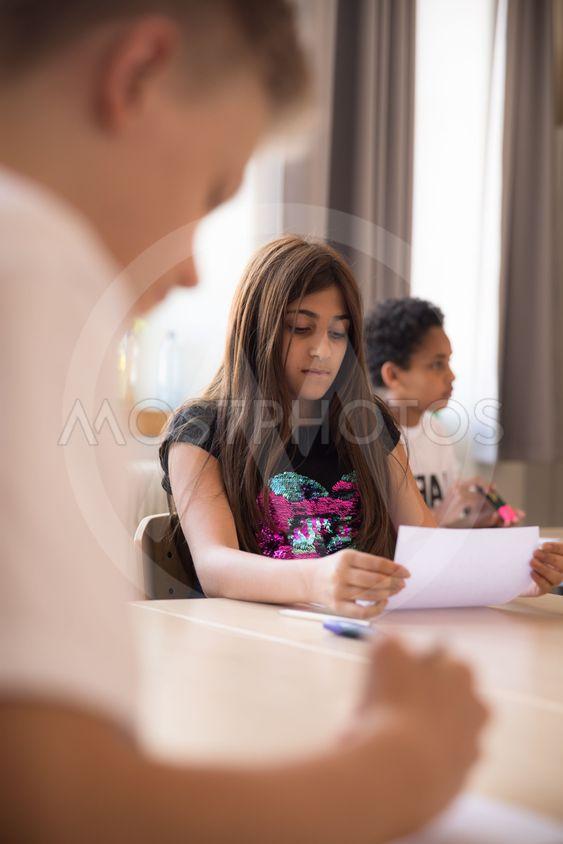 prov i klassrummet