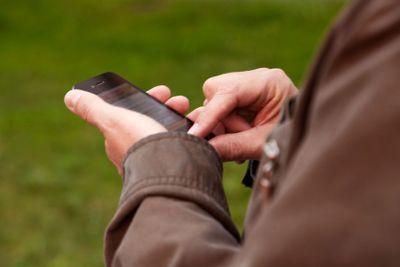 Använda Smartphone