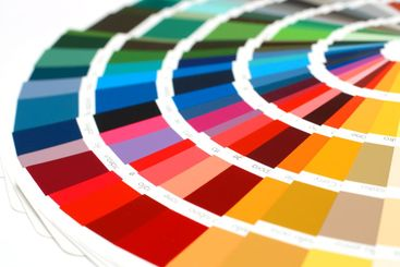 RAL sample colors catalogue