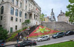 Strollin in Quebec city