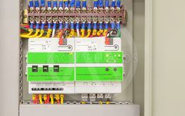 Electrical panel line, controls and switches, safety...