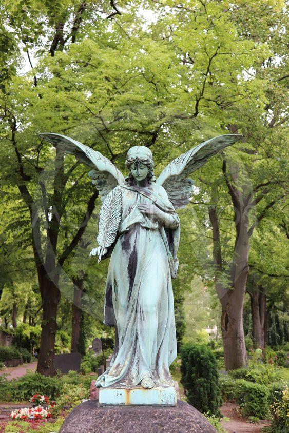 På kyrkogården Friedhof Schöneberg III
