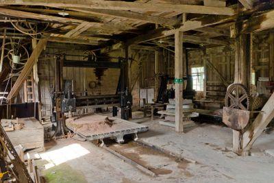 Stenhuggarverkstaden i Råbäck