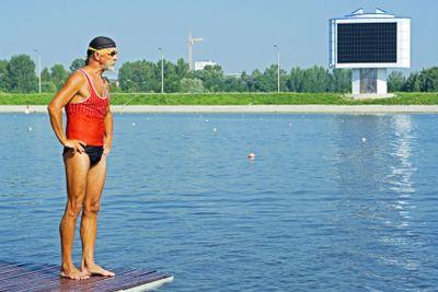 Before swimming start - 2