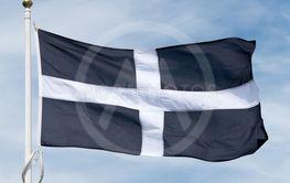 Cornish St Piran flag
