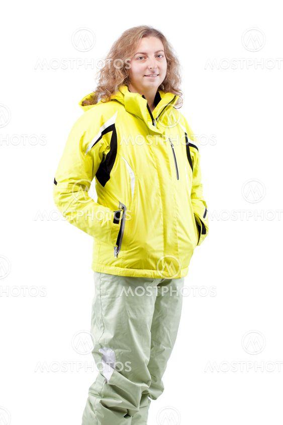 kvindelige skiløber