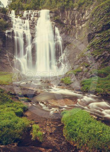 Skjervsfossen Waterfall - Norway