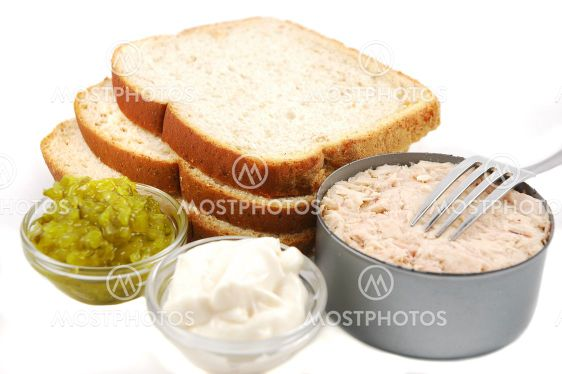 Tonfisk Sandwich ingredienser