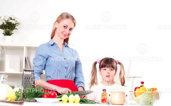 family make meal