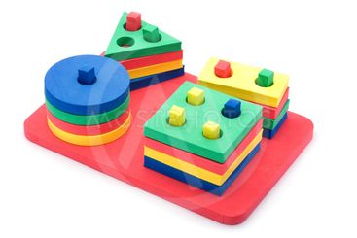 set geometric shapes for children