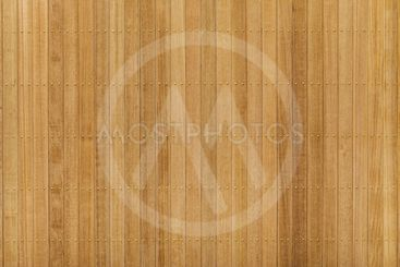 Teak wood panel with brass nail