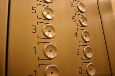 elevator panel buttons