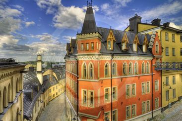 Architecture, Stockholm south.