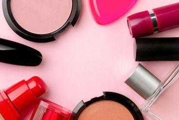 professional cosmetics mockup