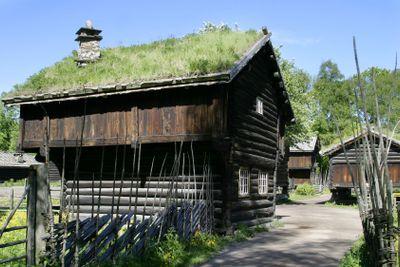 Old Norwegian Farm House