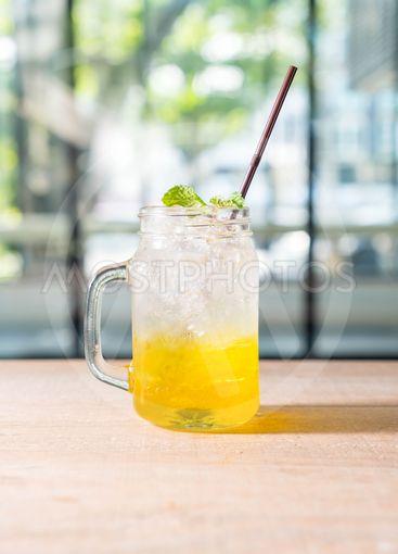 pineapple soda jar